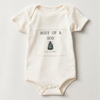 Body of a god - buddha baby bodysuit