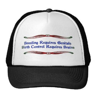 Body Parts Mesh Hat
