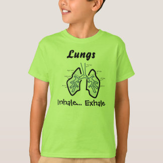Body Parts -- Human Lungs Tees