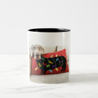 Body Pillow Two-Tone Coffee Mug