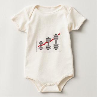Body progress baby bodysuit