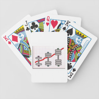 Body progress bicycle playing cards