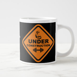 Body Under Construction Large Coffee Mug