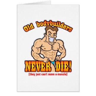 Bodybuilders Greeting Card