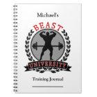Bodybuilding Beast University Training Journal
