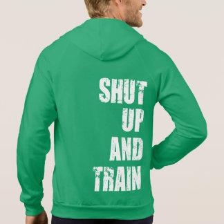 Bodybuilding Gym Motivation - Shut Up and Train Sweatshirt