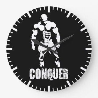 Bodybuilding Motivation Large Clock