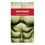 Bodybuilding/Self-Defence Business Card