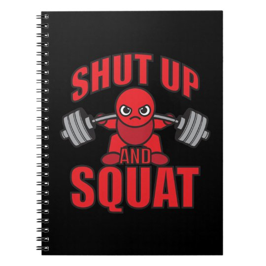 Bodybuilding - Shut Up And Squat - Kawaii