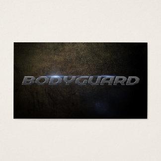Bodyguard Business Card