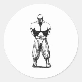 Bodyguard Classic Round Sticker