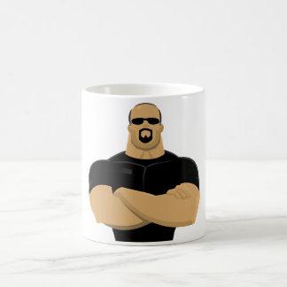 bodyguard coffee mug