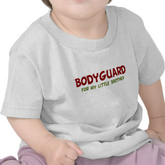 Bodyguard for Little Brother Tee Shirt