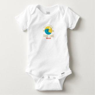 Bodystocking Cotton Baby Surfing Baby Onesie