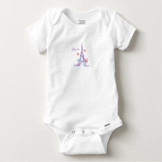 Bodystocking Cotton Paris Baby Baby Onesie