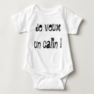 """Bodystocking for baby """"I want a calin!"""" by REN Baby Bodysuit"""