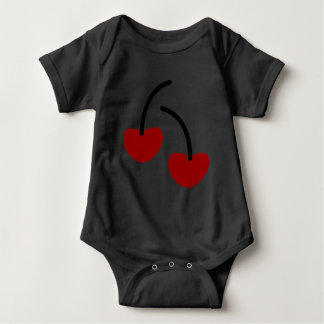 Bodystocking in jersey for baby Cherries Baby Bodysuit