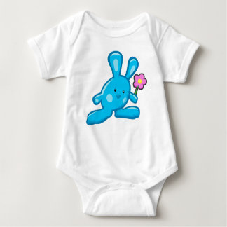 Bodystocking white baby - Blue Rabbit Baby Bodysuit