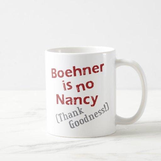 Boehner is no Nancy (Thank Goodness!) Coffee Mugs