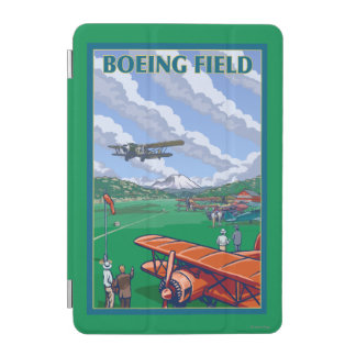 Boeing Field Vintage Travel Poster iPad Mini Cover