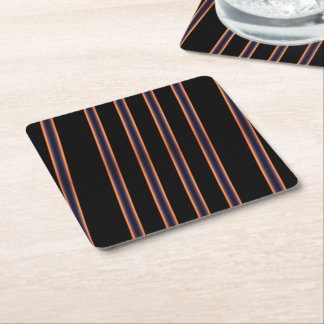 Boeing Sunset, the Pattern Square Paper Coaster