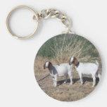 Boer Goat Kids Key Chains