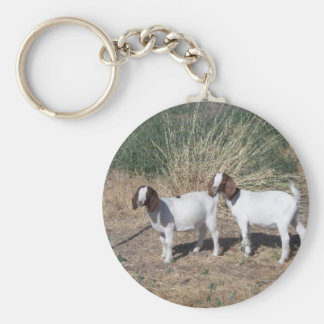 Boer Goat Kids Key Ring