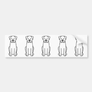 Boerboel Bumper Sticker