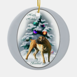 Boerboel Christmas Gifts Ornament