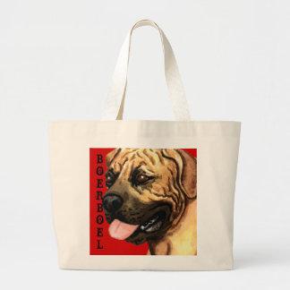 Boerboel Color Block Jumbo Tote Bag