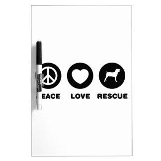 Boerboel Dry Erase White Board
