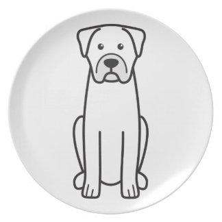 Boerboel Party Plates