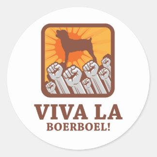 Boerboel Round Sticker