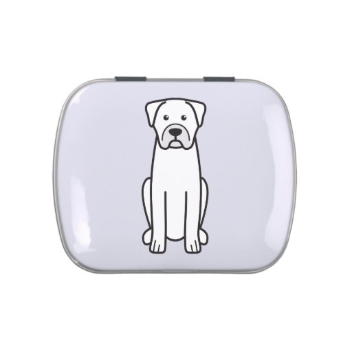 Boerboel Jelly Belly Tin