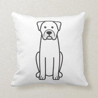 Boerboel Throw Pillow