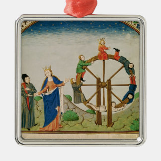 Boethius with the Wheel of Fortune Christmas Tree Ornament