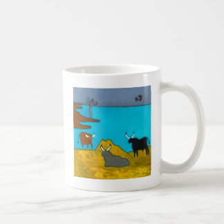 Boeufs d'Italie Basic White Mug