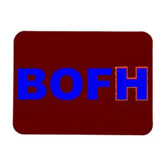 BOFH hybrid operator From bright Rectangular Photo Magnet