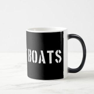 Bogaart Boats Morphing Coffee Mug