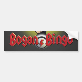 Bogan Bingo bumper sticker