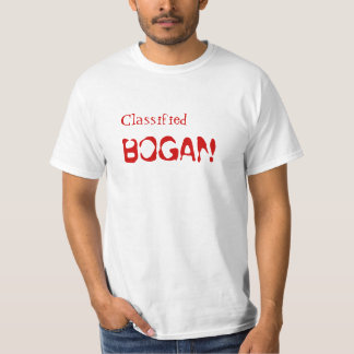 Bogan Classified Bogan Shirt