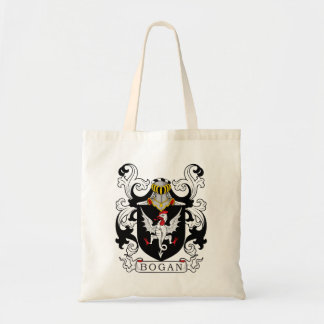 Bogan Family Crest Canvas Bag