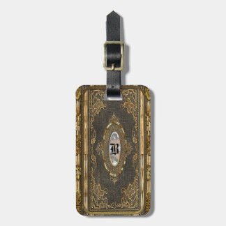 Bogged Old World Victorian Luggage Tag