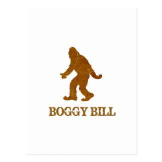 Boggy Bill (Sasquatch) Postcard