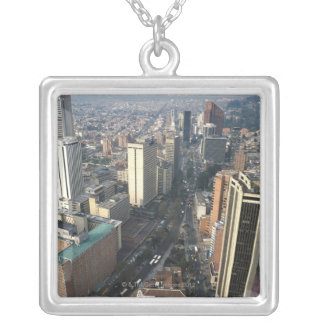 Bogota, Colombia Silver Plated Necklace