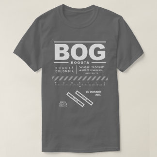 Bogota El Dorado International Airport BOG T-Shirt
