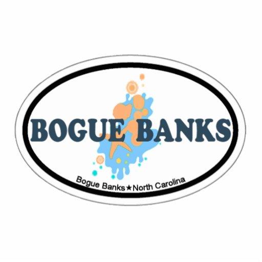 Bogue Banks. Acrylic Cut Out