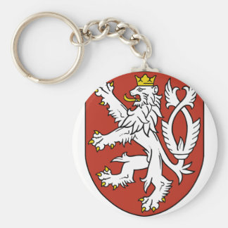 bohemia emblem key ring