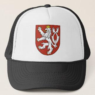 bohemia emblem trucker hat