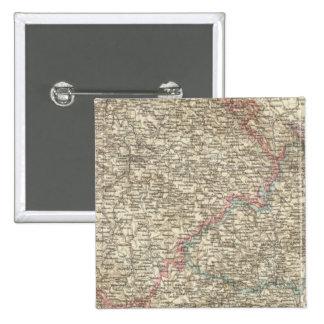 Bohemia, Moravia, Austrian Silesia 2 15 Cm Square Badge